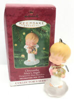 2001 Hallmark Chrysantha Harp #14 in MARY'S ANGELS Series Mary Hamilton in Box