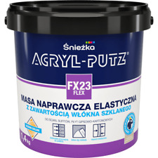 Acryl-Putz FX24 FLEX - Flexible finish putty with glass fibre additives 21KG