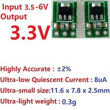 2x 3.5-5V to 3.3V DC-DC Step-Down Buck Module repl AMS1117 LDO Regulator Board