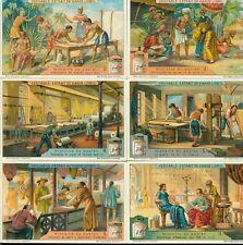 LIEBIG : S_1068 : 'Histoire du papier