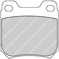 Rear Brake Pad Set Fits Opel Saab Vauxhall OE 1605006 Ferodo FDB1117