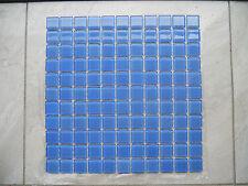 Crystal Glass Mosaic Tiles - #323 Sky Blue - Pool/WaterLine/FeatureWall