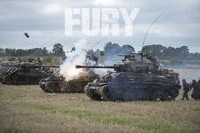 Movie POSTER FURY 2014 M4 Sherman Tank 20x30 inch #09