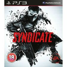 Syndicate Executive Edition PS3 PlayStation 3 Video Game Mint Cond UK Release