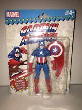 Brand New- Marvel Legends Vintage Captain America Figure