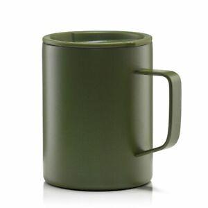 MIZU Becher Edelstahl mit Kaffeedeckel, CAMP CUP 400 ml - olive