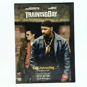 Training Day Snap Case DVD Denzel Washington R2 R4 GC Free Tracked Post