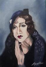 Original Painting Oil on Canvas Portrait  by GREGORY TILLETT : Time can be Cruel