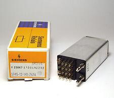 Siemens Kleinpolrelais / Telegraphen Relais, V23067-A1094-Z202, NOS