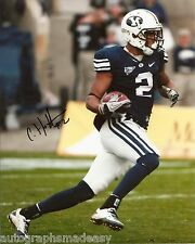 CODY HOFFMAN BYU COUGARS SIGNED 8X10 PHOTO W/COA