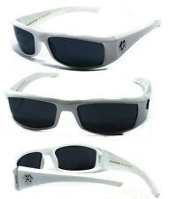 New BioHazard Mens Sunglasses - White BZ1