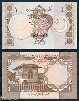 PAKISTAN 1 RUPEE 1992 SIGN 5  PICK 27 e  SC- /  A/UNC W/H