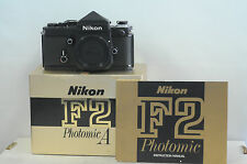 Nikon Titanium F2 Photomic 35mm SLR Film Camera