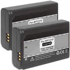 2x Akku ED-BP1310 BP-1310 für Samsung NX5, NX10, NX11, NX20, NX100