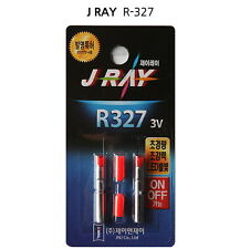 J-RAY R327 3V PIN Type Bulit-In LED Lithium Battery Float Bobber Night Fishing