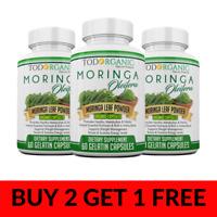 Moringa Oleifera Green Superfood Supplement, Energy Boost, Healthy Nutrition