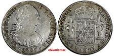 Mexico SPANISH COLONY CARLOS IV Silver 1797 MO FM 8 Reales  KM#109