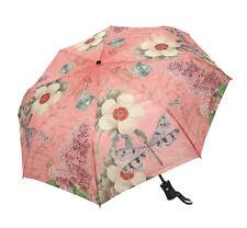 Clifton Coynes Modern Vintage Dragonfly Auto Open Close Folding Umbrella