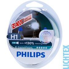 H1 Philips X-tremeVision-take performance +130% más de luz-duo-Pack-box nuevo