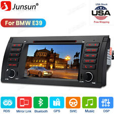 "For Bmw 5 Series E39 Car Stereo Cd Dvd Player 7"" Radio Gps Navigation Bt Dab+"