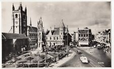 Devon; Plymouth, St Andrew's Church & Guildhall RP PPC, Unposted, By Photochrom