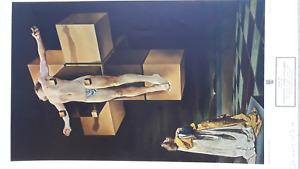 "Salvadore Dali ""Crucifixion""  Print NR Great Christmas Gift"