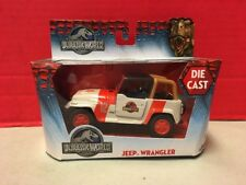 Jurassic World Jeep Wrangler Die Cast Car Toy Jada 2015