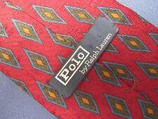 Men's Polo by Ralph Lauren Silk Tie Made by Hand in Italy V23934