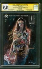 Batman 5 Dark Knight III CGC 4XSS 9.8 Miller + DK Team Wonder Woman Variant 2016
