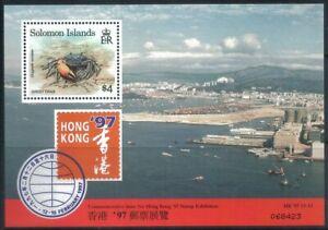SOLOMON ISLANDS - 1997 Hong Kong '97 Stamp Exhibition Mini Sheet MNH