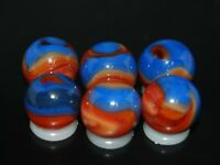 SIX PACK  Jabo Classic Marbles Collector Set  HTF Marble KEEPERS Lot 351