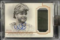 2020 Willson Contreras Topps Dynasty Chicago Cubs Auto Patches 04/10
