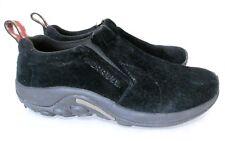 Merrell Jungle MOC Women Black Suede Hiking Shoes Size 9.5 VGC