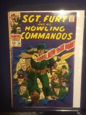 Sgt Fury and His Howling Commandos #56 VGFN July 1968 Ayers Severin