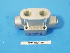 New Hyva hydraulic Diverter Valve (pneumatic control) Hydratech 021418000