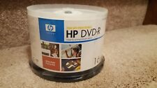 50 HP Brand  Blank 16x DVD-R DVDR Recordable Disc Media