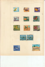 SOUTHERN RHODESIA 1964 SET USED TO 5/-