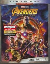 AVENGERS INFINITY WAR BLURAY & DIGITAL SET with Robert Downey Jr. & Josh Brolin