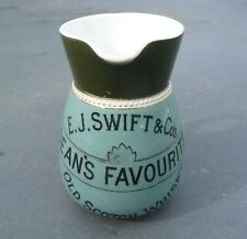 More details for vintage swift & co dean's favourite advertising  whisky water jug