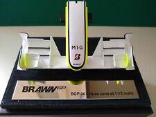 AMALGAM BRAWN GP BGP001 1/12 NOSECONE FRONT WING 2009 WORLD CHAMPION BUTTON (#20