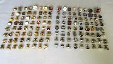 Large Lot 135 Single Cufflinks * Silver / Goldtone * Nice