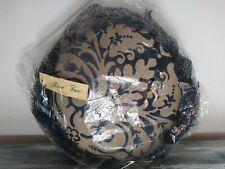 "Rose Tree Tambourine Decorative Pillow Coronado Midnight 13"""