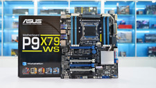 MAINBOARD ASUS P9X79 WS Intel X79 Express LGA 2011 Socket R DDR3 NEW FULLBOX