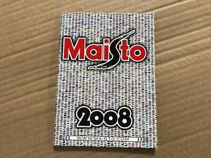 Maisto Catalogue 2008 Pocket Size (64 page)