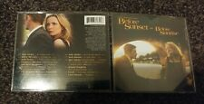 Before Sunset and Before Sunrise - film score - 2004 Milan Cd - good