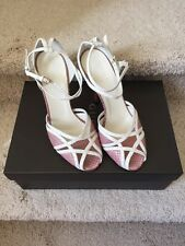 Brand New Womens Pink Python Gucci Sandals Size 34.5. Retail $750