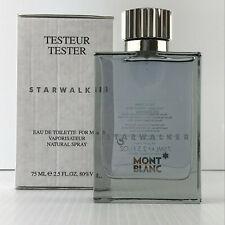 MONT BLANC STARWALKER POUR HOMME FOR MEN 2.5 OZ 75 ML EDT Spray TST BOX