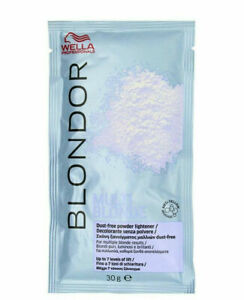 Wella Blondor Multi Blonde Dust Free Powder Bleach Sachet 30g