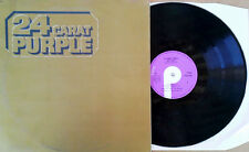 DEEP PURPLE - 24 CARAT PURPLE - PURPLE LBL # TPSM 2002 - U.K. PRESSING - 1975