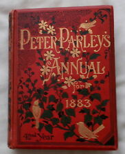EIGHT ODD DOGS & THEIR TALES BEING PETER PARLEYS ANNUAL FOR 1883 DOG STORY BOOK